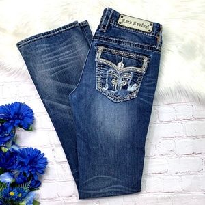 Rock Revival Jeans - 👖I•ROCK REVIVAL•I 'Ava' Slim Boot Jeans 29x32 👖